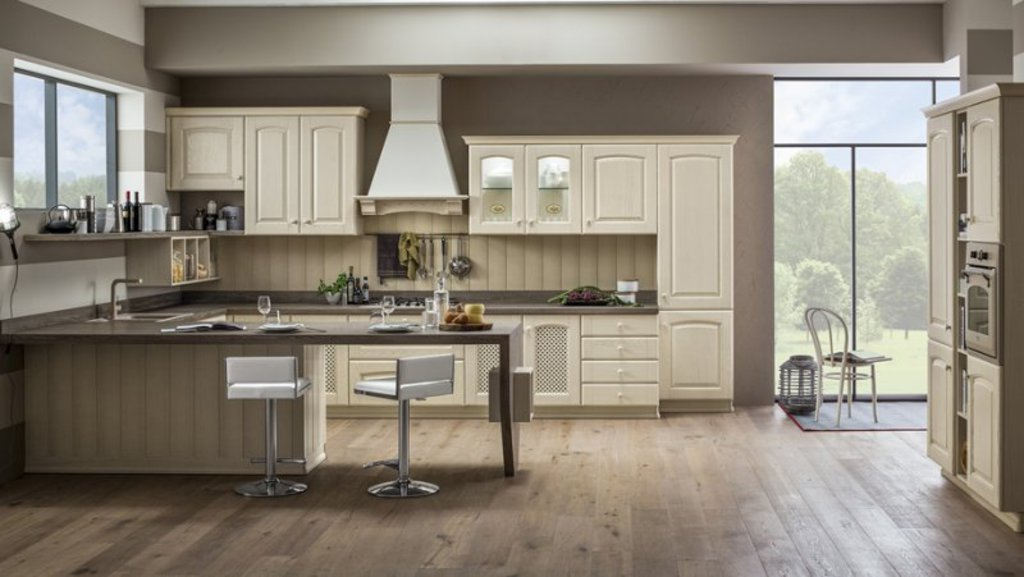 Attractive Elegant Timeless Kitchen Designs Pictures