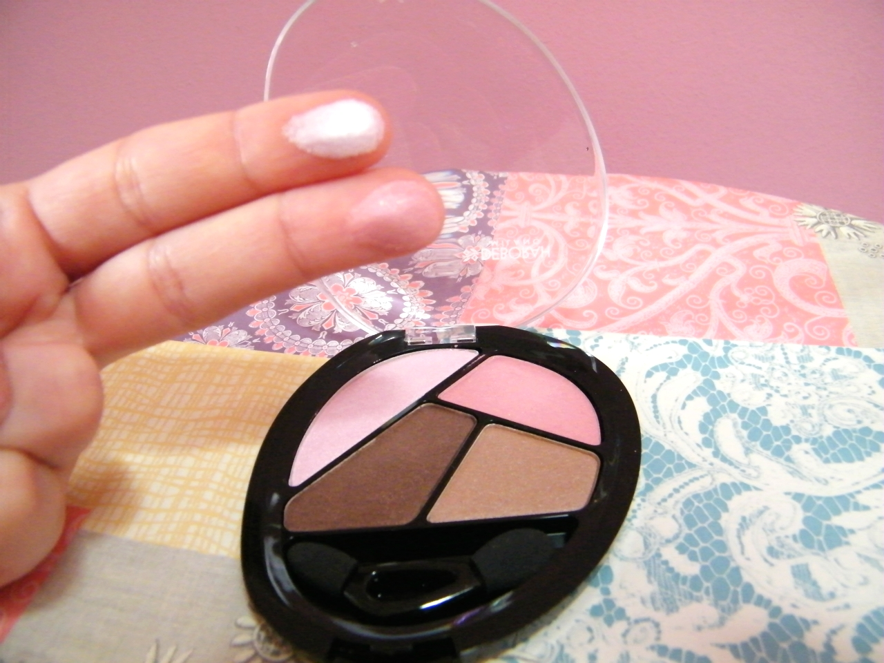 Deborah Milano Makeup Eyeshadow Quad