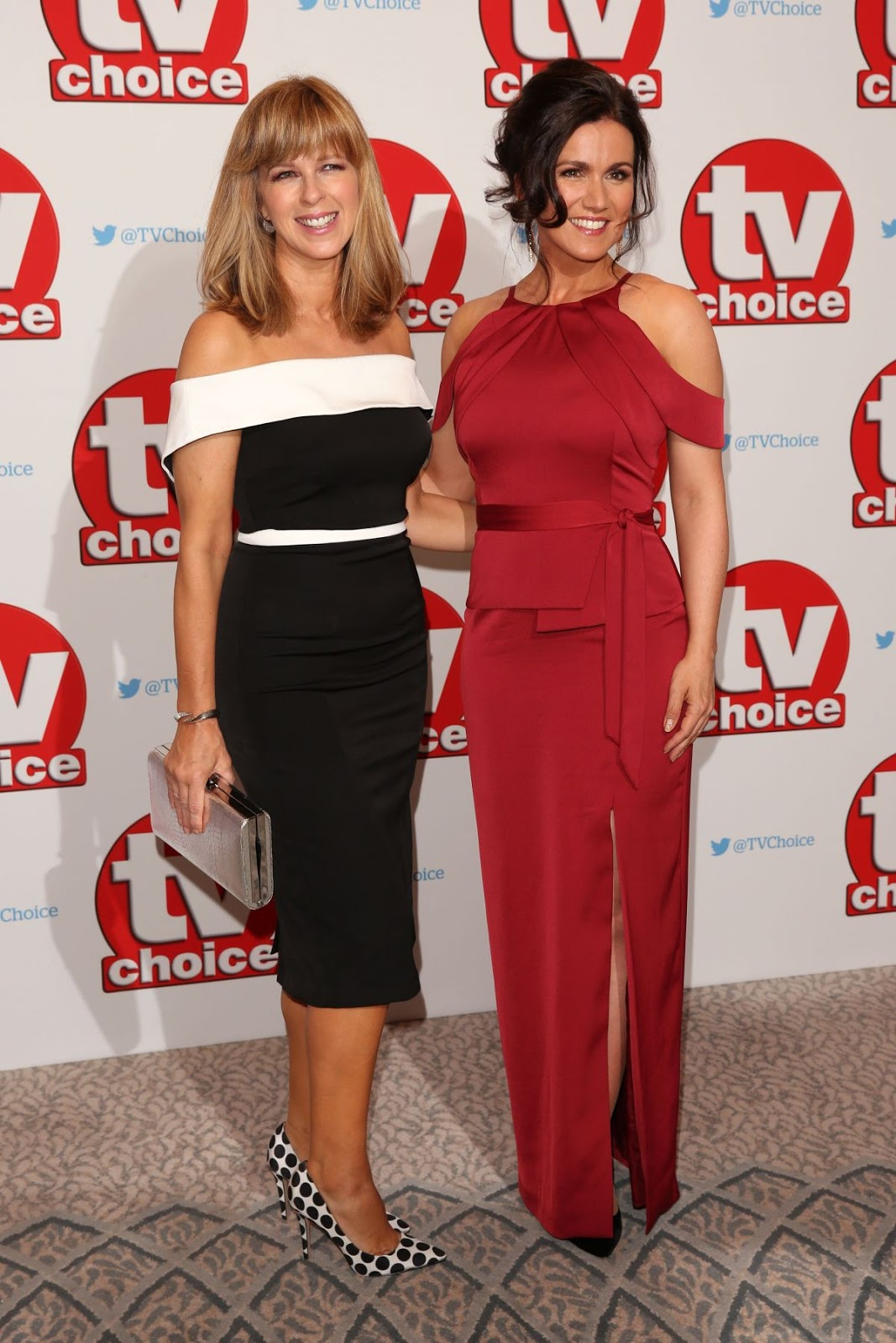 HQ Photos of 'BBC Breakfast' presenter Susanna Reid at TV Choice Awards in London