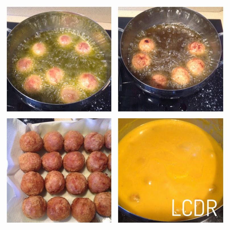 Receta de albóndigas de carne en salsa: cocinado