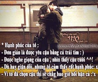 Những câu nói hay về tình yêu trên Facebook - FB Love