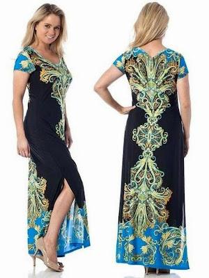 Best short sleeve maxi dresses