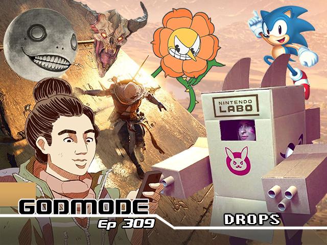 GODMODE 309 - DROPS