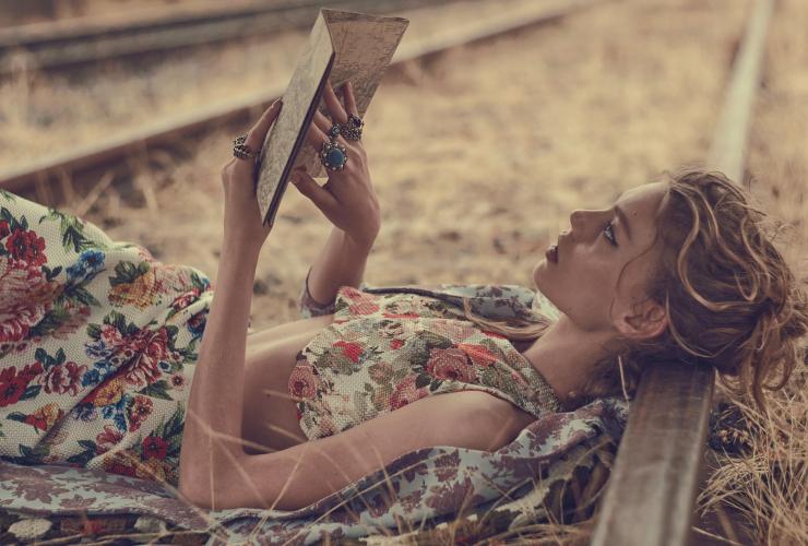 Ondria Hardin for Vogue Australia March 2016