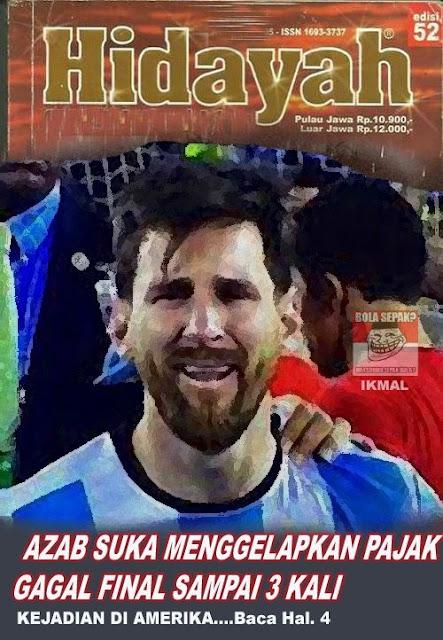 Messi Edisi Lebaran 2 the epic sport