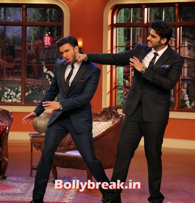 Ranveer Singh and Arjun Kapoor, Gunday Promotion on Comedy Nights with Kapil