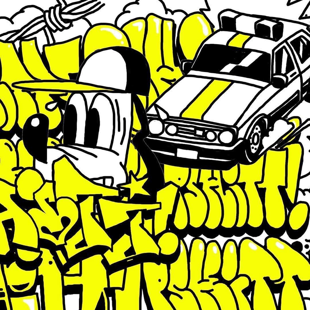 Pshitt graffiti jam