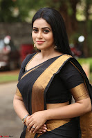 Poorna in Cute Backless Choli Saree Stunning Beauty at Avantika Movie platinum Disc Function ~  Exclusive 078.JPG