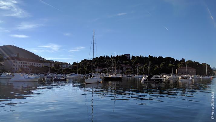 Порт в Дубровнике, Хорватия