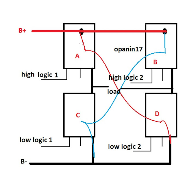 bridge circuit for modified sine wave inverters electronic circuit