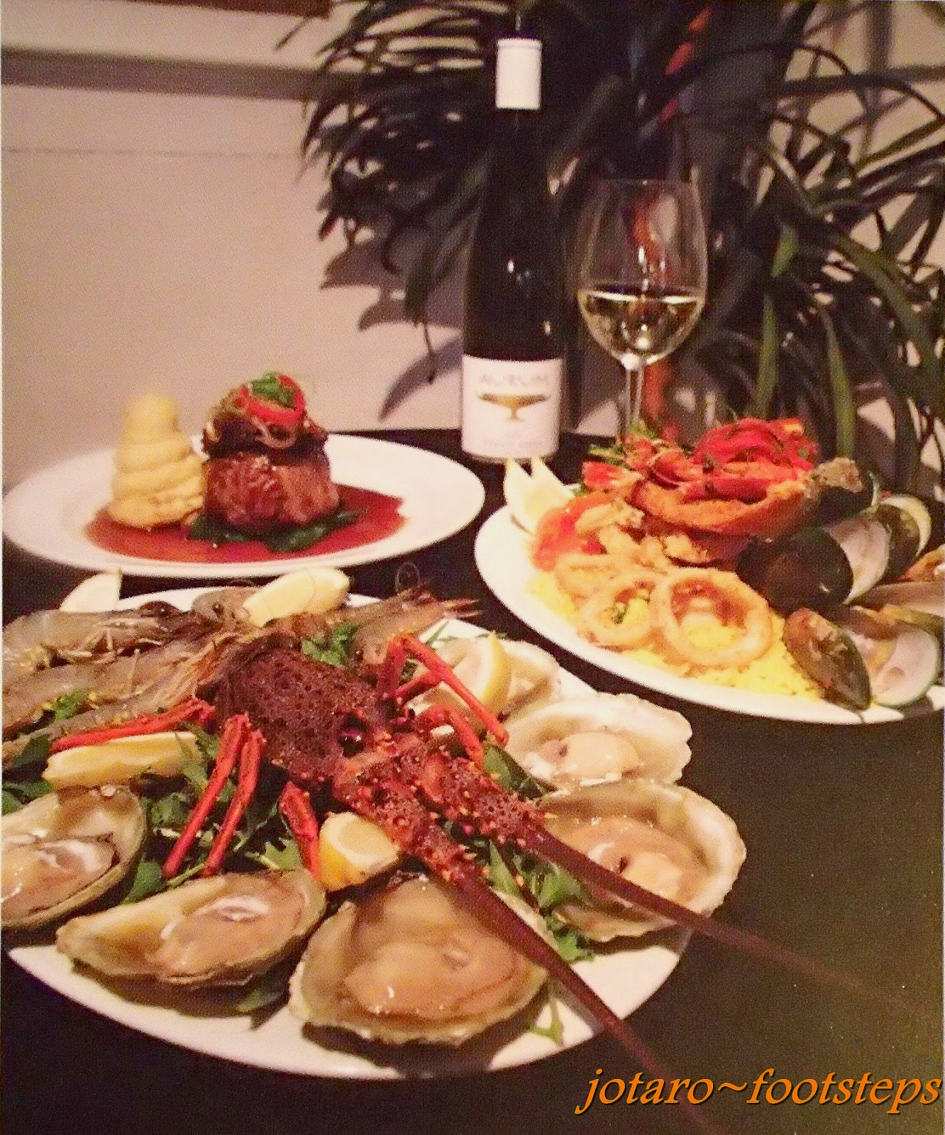 Having Heard Much About How Good New Zealand S Oysters Are We Were Attracted By Their Poster Of A Platter Tempting Freshly Shucked