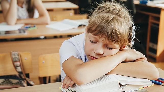 Los niños no quieren ir a la escuela