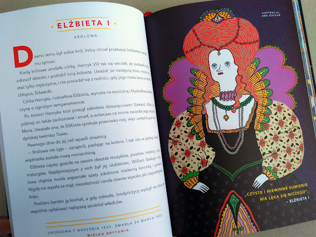 """Elena Favilli, Francesca Cavallo, """"Opowieści na dobranoc dla młodych buntowniczek. 100 historii niezwykłych kobiet"""""""