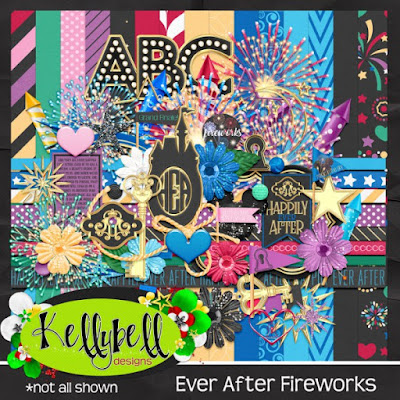Ever After Fireworks - New from Kellybell Designs
