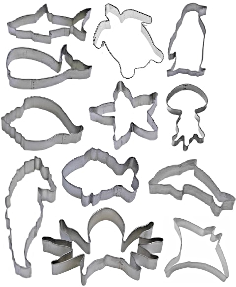 Sea Theme Cookie Cutters