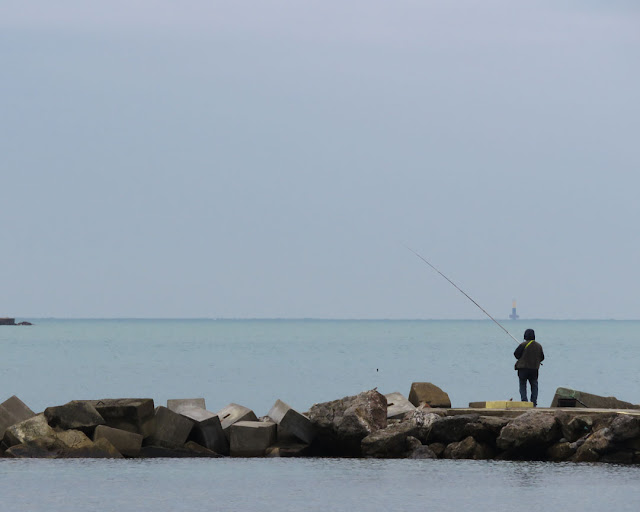 Fishing in Autumn, Livorno