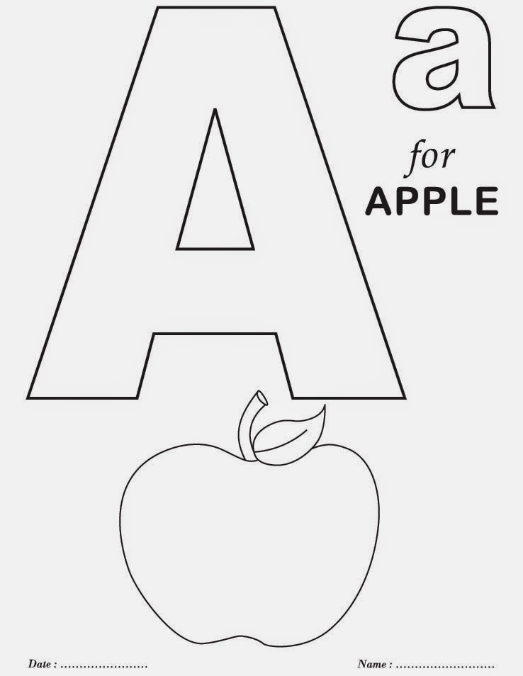 Atividades Alfabeto De Colorir Em Ingles Alfabetos Lindos