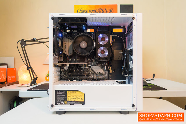 rakk anyag white pc build