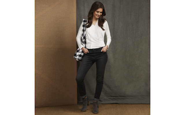 Laura Ashley Grey Skinny Jeans