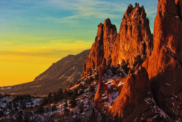places to visit Garden of the Gods, Colorado, USA