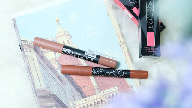 Review dan swatch Me Now Kiss Proof Matte Lipstick