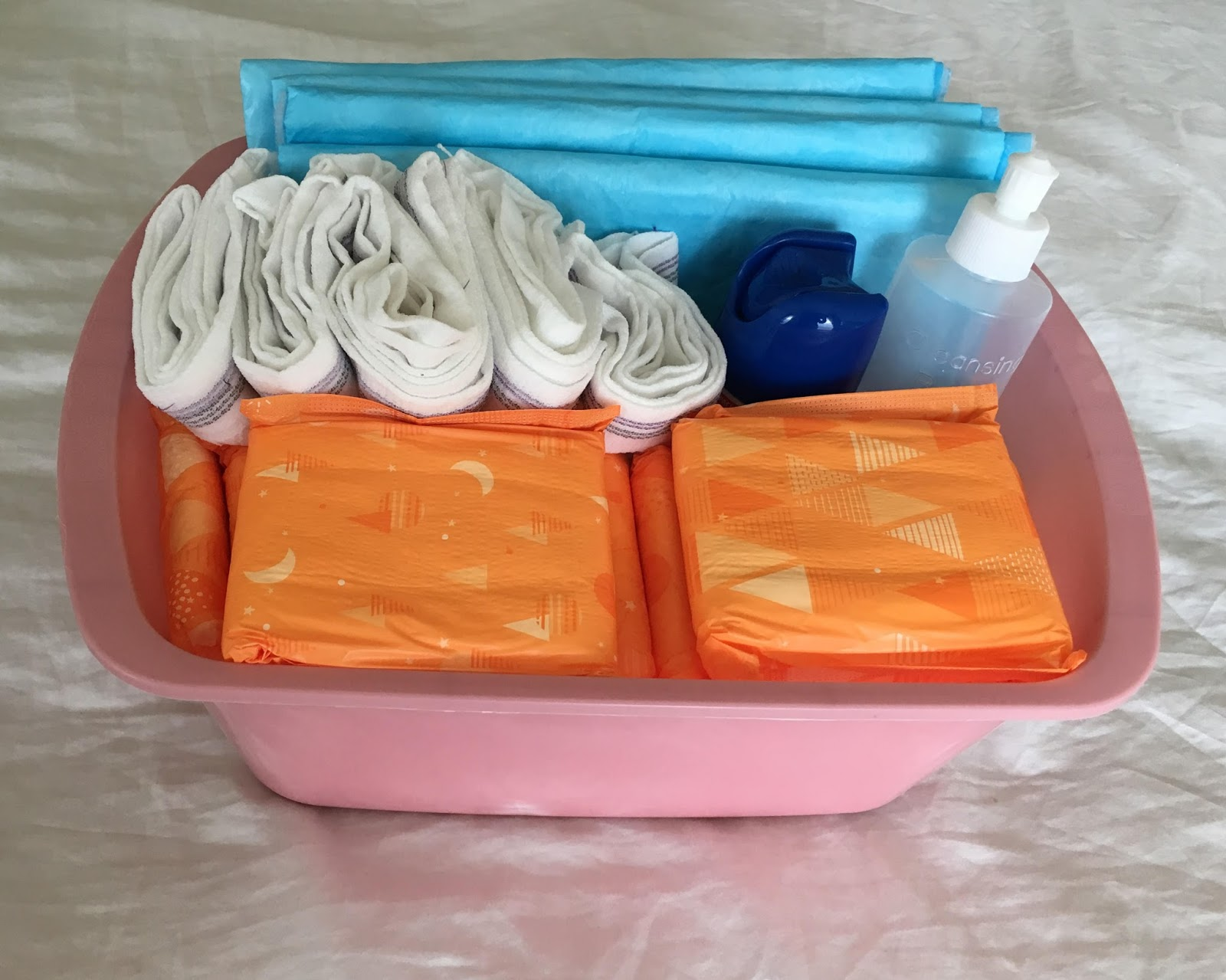 New Mom Survival Bins | Postpartum Care Kit