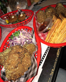 Miss Katie's Crab Shack, Melbourne CBD, fried chicken, slaw, waffles