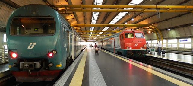 Transportes públicos do aeroporto até Roma