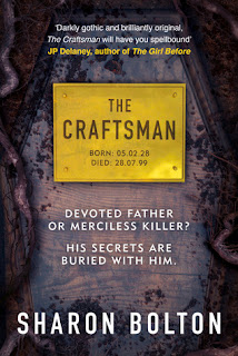 The Craftsman by Sharon Bolton - Reading, Writing, Booking