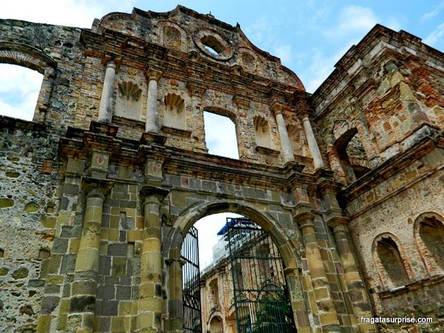 Casco Viejo do Panamá - ruínas do Colégio dos Jesuítas