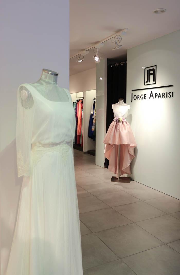 Vestidos de novia jorge aparisi