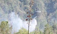 Fuego en Chiapas