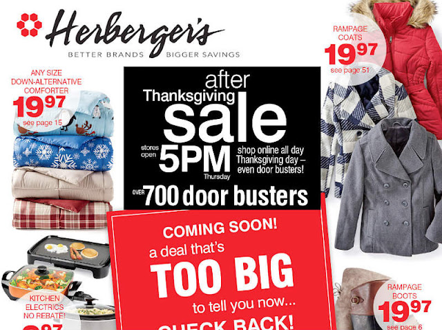 Herberger's Black Friday 2017 Ad