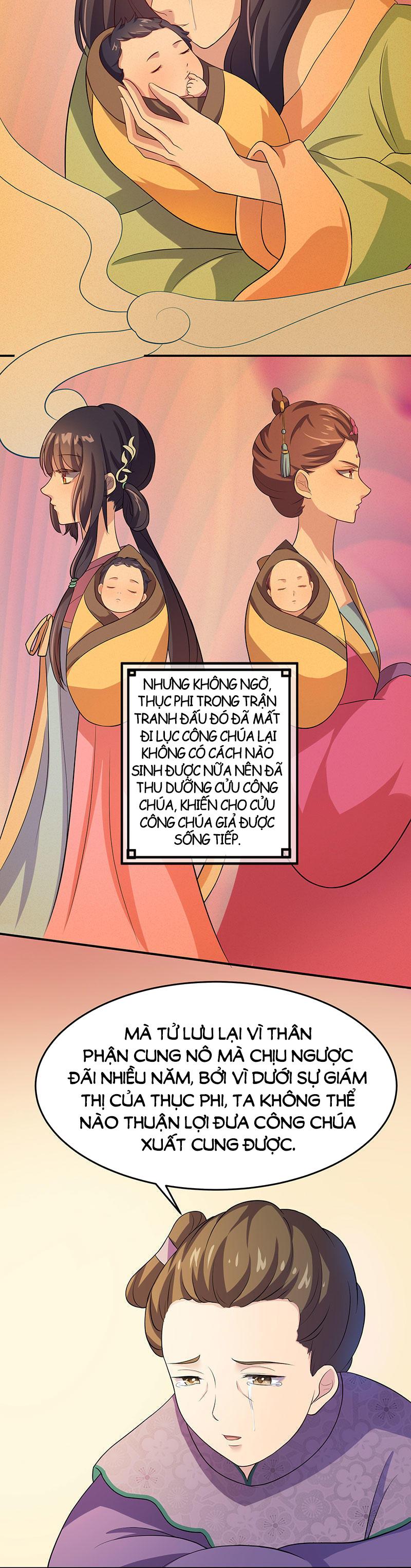 Khuynh thế đế vương cơ chap 3 - Trang 3