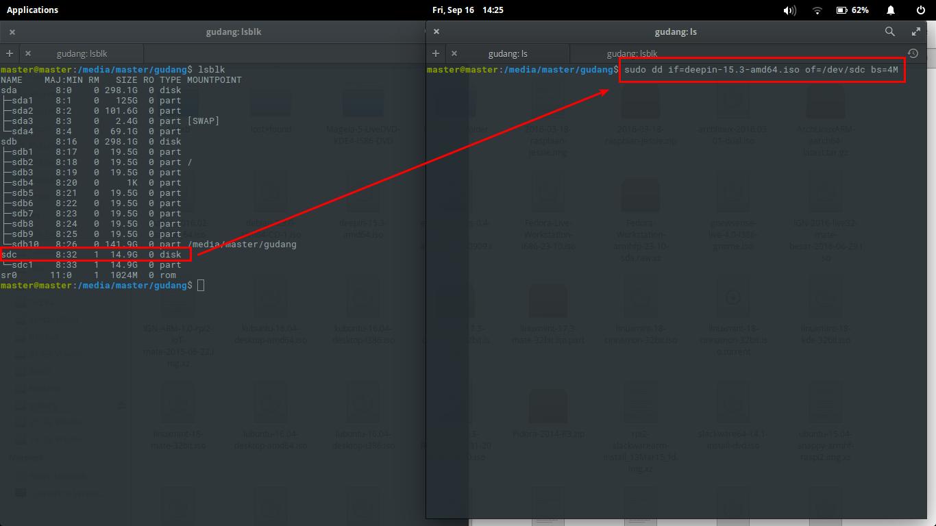 Ubuntu Buzz !: How To Create deepin 15 3 GNU/Linux Bootable USB