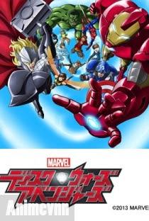 Marvel Disk Wars: The Avengers -Biệt Đội Siêu Anh Hùng -  2013 Poster