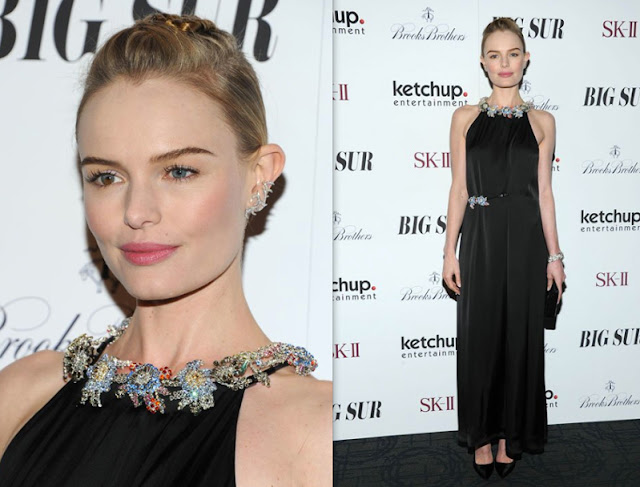 Kate Bosworth in Christopher Kane(Spring 2014) – 'Big Sur' New York Premiere