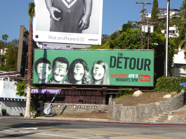 Detour series premiere billboard
