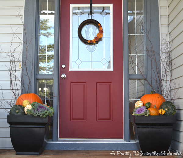 Fall Porch Decorating Ideas: Gourd-geous! Putting Together My Fall Porch