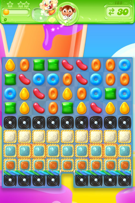 Candy Crush Jelly Saga 185