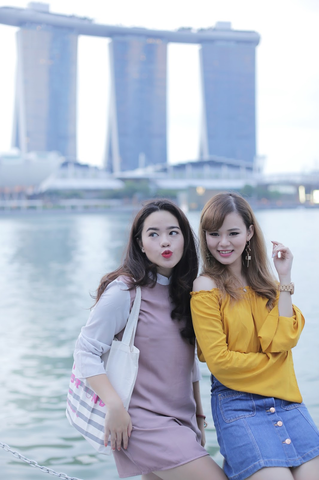 h&m, forever 21, casual outfit, fashion, ootd, jeanmilka ootd, fashion blogger, fashion blogger indonesia, singapore, marina bay sands, travel to singapore, indonesia fashion blogger