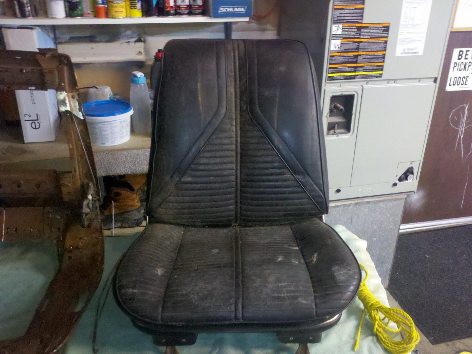 1967 Buick Skylark Bucket Seats   Classic Seat Restorations - www