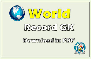 WORLD RECORD GENERAL KNOWLEDGE