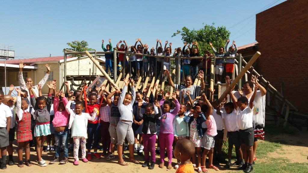 The children at Grace Mission School