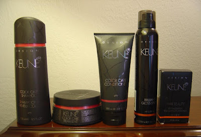 Keune Design Color Care five products.jpeg