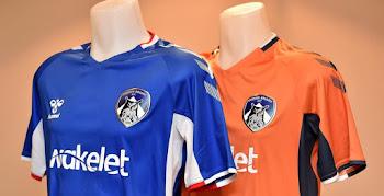b66132e62 Hummel Oldham Athletic 19-20 Home   Away Kits Unveiled