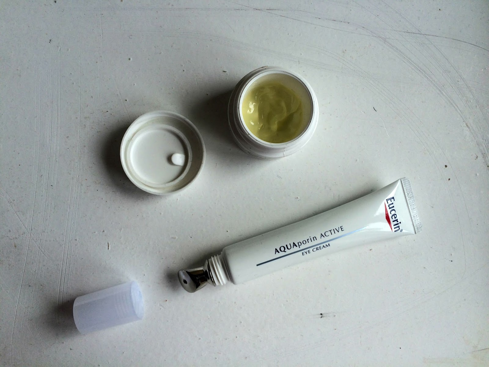 Eye creams kiehl's creamy avocado eye treatment and eucerin aquaporin active revitalising eye care