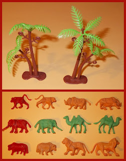 3 Animal Kingdom Funtastik Tradeway Ltd Bely Blister Pack Plastic Zoo Toys 1 5 055745 431362; Animals; BT29 4TF; Dinosaur Set; Header Card; Item No 431362; Made in China; No BL58; Rack Toy; Rack Toy Month; RTM; Small Scale World; smallscaleworld.blogspot.com; Toy Animals; Wild Animals; Wild Life; Wildlife;