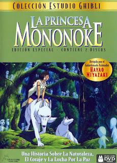 Princesa Mononoke monoke-hime miyazaki