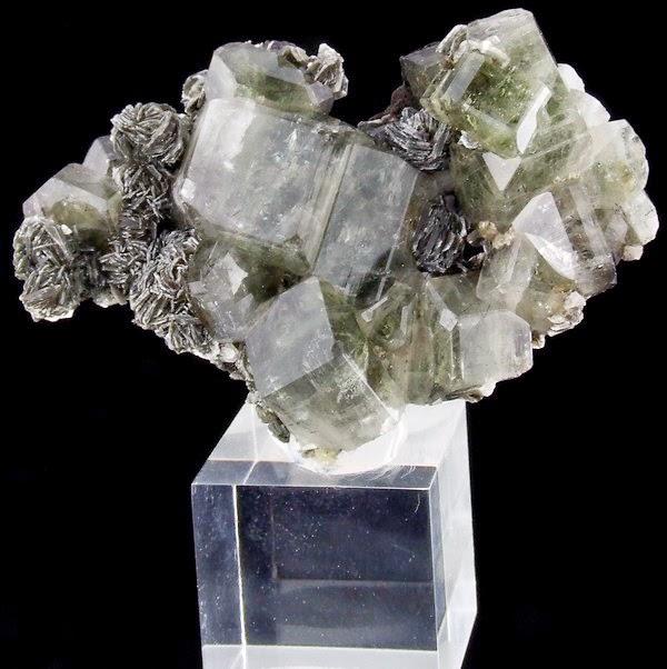 Gemmy Apatite Crystals